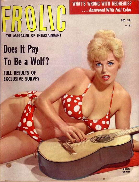 Frolic Dezember, 35 cent, via retro-space, 27. April 201. Does It Pay To Be A Wolf?; What's Wrong With Redheads? (Answered With Full Color)