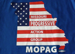 Missouri Progressive Action Group t-shirt front