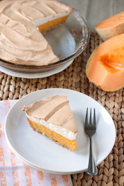 Cantaloupe Meringue Pie