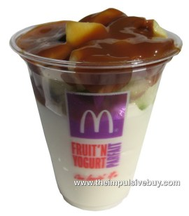 McDonald's Caramel Apple Parfait