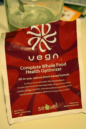 Vega Berry Flavor packet