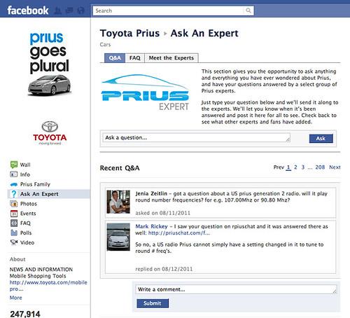 prius-askanexpert-facebookapp