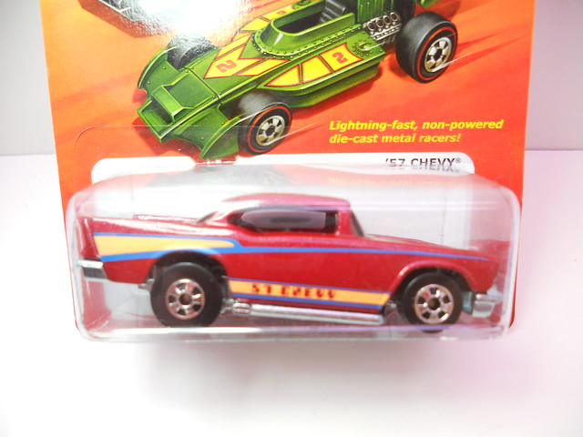hot wheels hot ones '57 chevy (2)