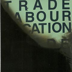 Trade. Labour. Vocation cd-r