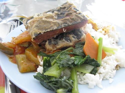 first thai lunch