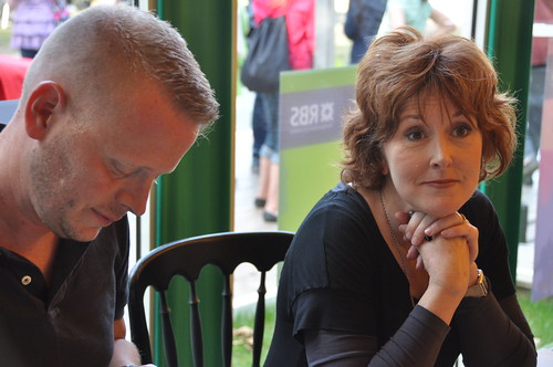 Patrick Ness and Moira Young