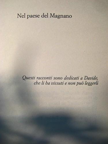 Sandro Campani, Nel paese del Magnano; italic 2010; Grafica di copertina di Giordano Giunta. esergo (part.), 1