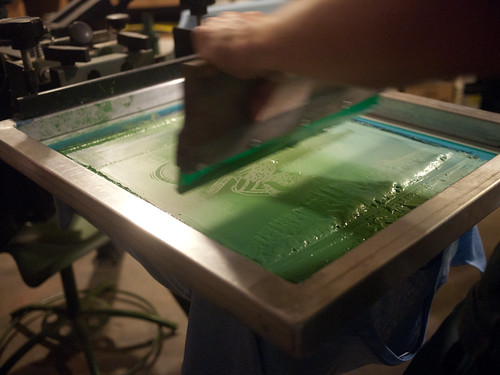 Pan Ector Industries silkscreening