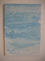 #22 Very Blue Sky, Big Clouds