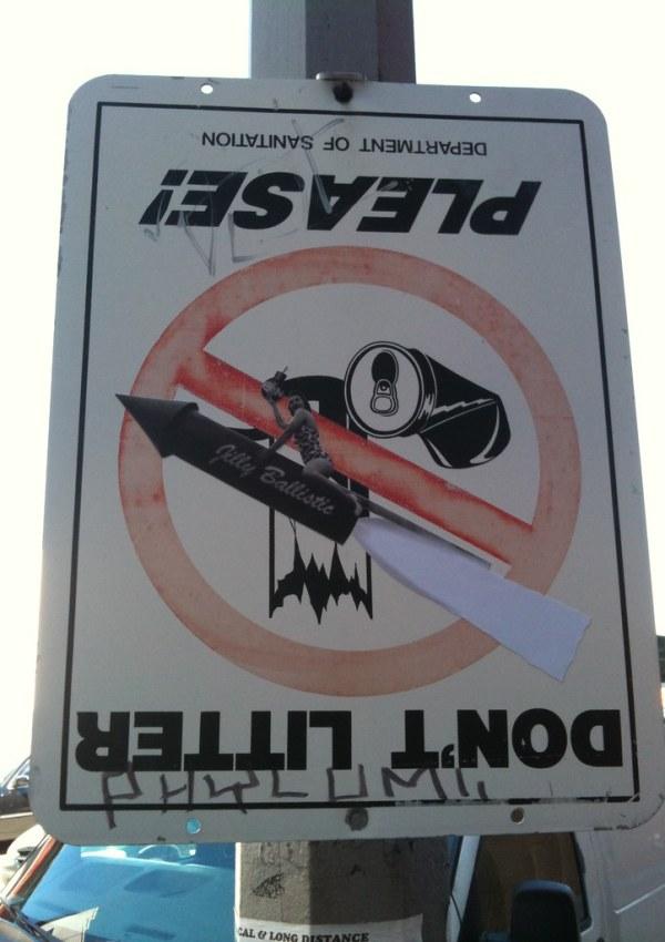 'Please Don't Litter' A Jilly Ballistic and Enzo & Nio PSA