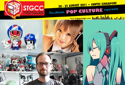 Highlights to Look Forward to at STGCC 2011!