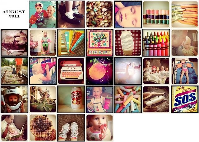 August 2011 Instagrams