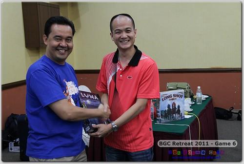 BGC Retreat 2011 - Prize Winners
