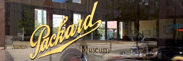 Packard Window Art