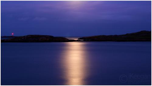 Dalkey Island / Moonlight by Ian Keegan