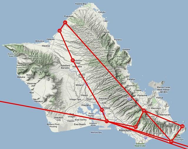 Oahu_Route