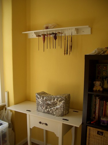 Spindle Shelf
