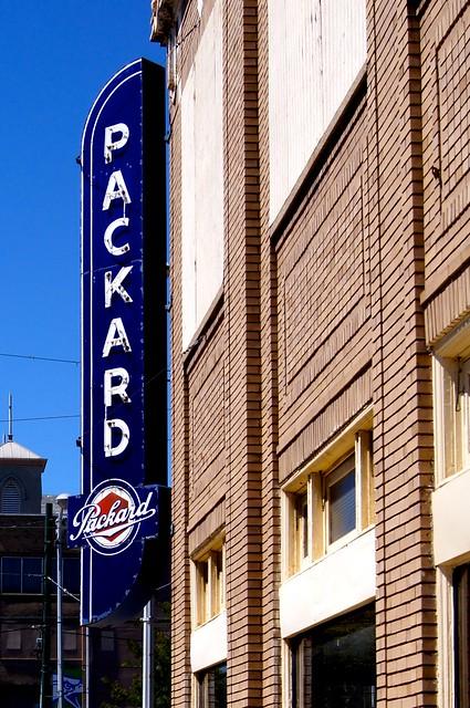 Packard Sign