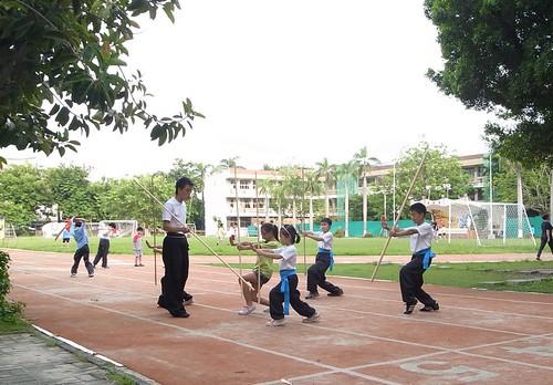 【Video】國術課也有遊戲可以玩:摸背遊戲、踢水球(6.11~7.1ys)