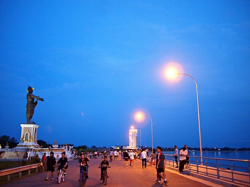 Chao Anouvong Park, Vientiane