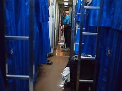 Cleaner, Train 69 from Bangkok to Nong Khai
