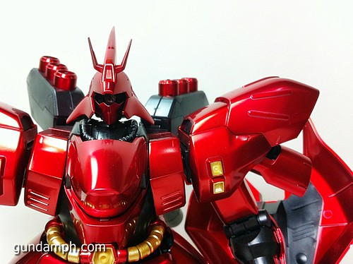 MG Sazabi Metallic Coating (Titanium-Like Finish) (47)