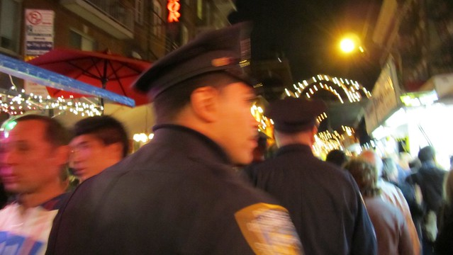 feast of san gennaro. nypd.