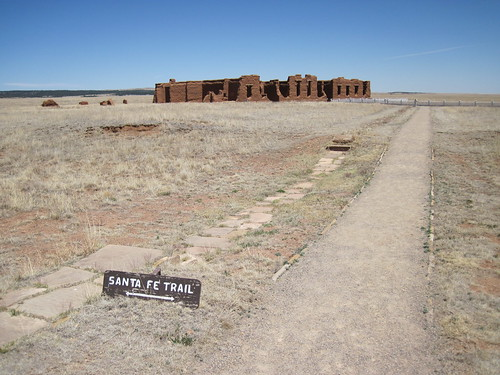 Picture from Ft. Union, New Mexico