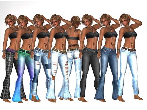 BoHo HoBo Jeans Pack
