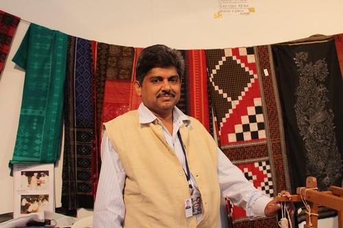 Surendra Meher, Ikat weaver