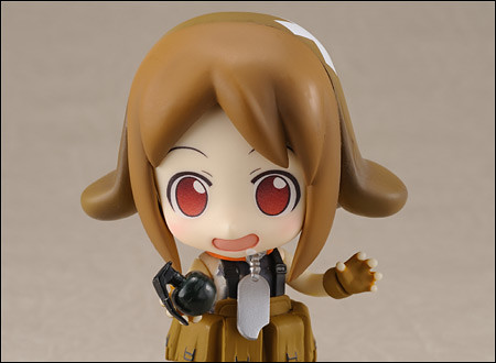 Army-san: Uh-oh ... I have removed the safety lock off the grenade