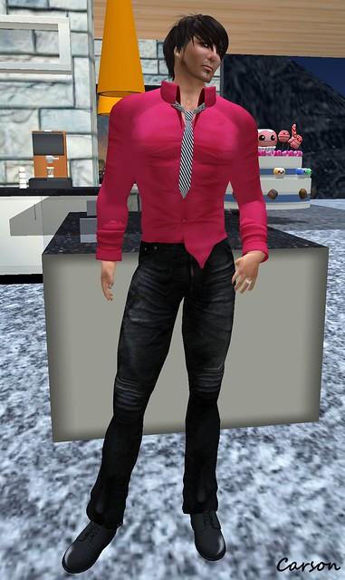 22769 - Lounger Shirt and Velvet Jeans
