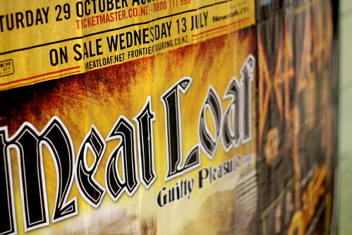 Wednesday: what year IS this? Meat Loaf and Def Leppard