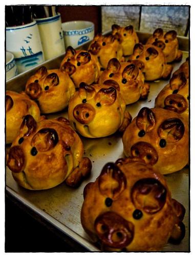 pig mooncake