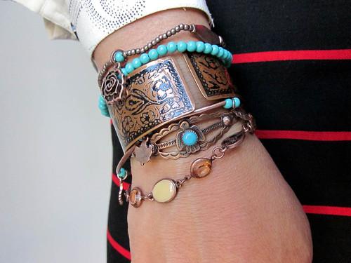 copper bracelets
