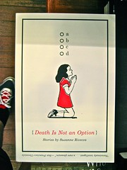 Suzanne Rivecca / Death Is Not an Option / Jaya Miceli. Copertina (part.)