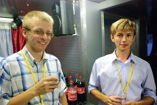 Alexey and Ilya