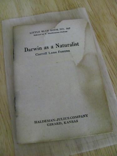 Darwin as a Naturalist