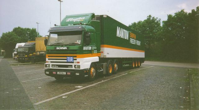 Mantons Scania 143 Streamline