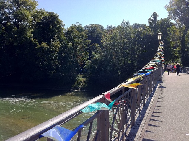 Footbridge with Bunting 2