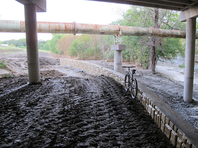 Path Filled Under Renner Road