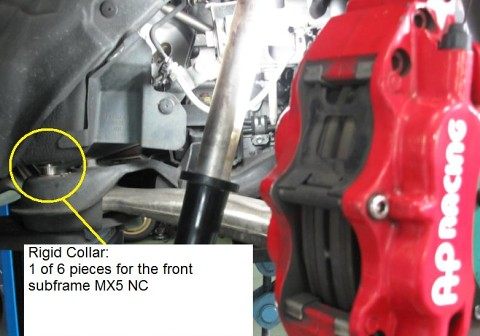 Spoon rigid collar NC mx5 front