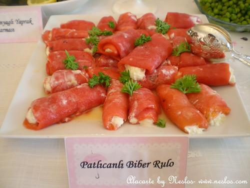 patlıcanlı biber rulo