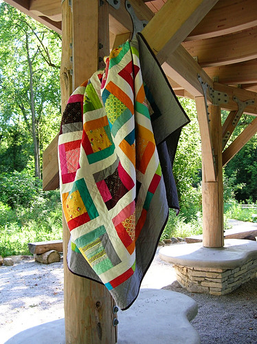 FMF quilt hanging out