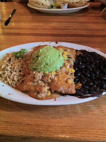 spicy tempeh enchiladas