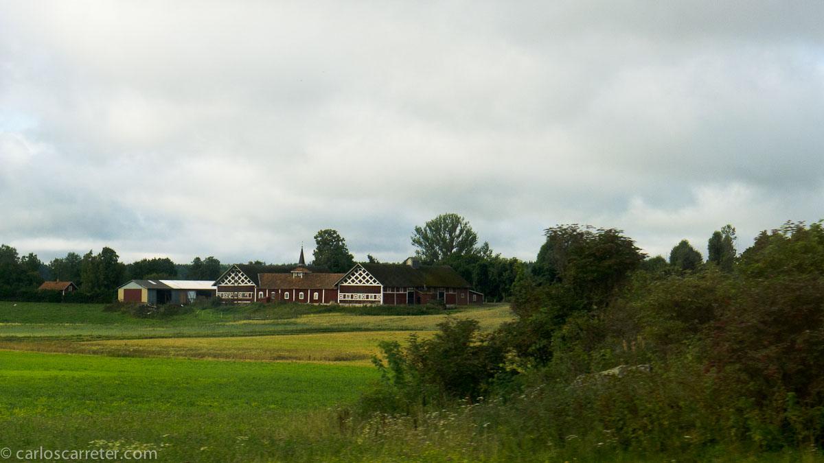 Caserío (entre Estocolmo y Gotemburgo)