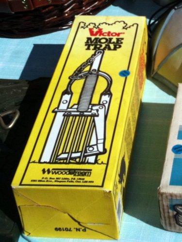 Yard sale mole trap