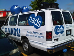 Hood to Coast, the NADS van got an upgrade this year