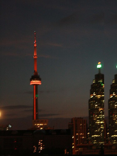 CN Tower Orange
