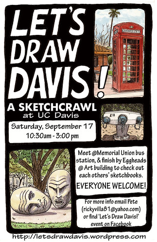 let's draw davis! september 17